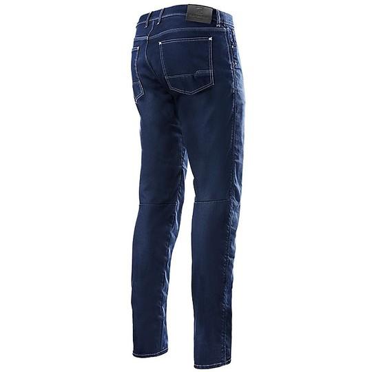 Jeans Moto Pantalon Alpinestars MERC Denim Rinse Plus Bleu