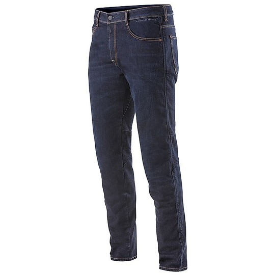 Jeans Moto Pantalon Alpinestars RADIUM Denim Rinse Plus Bleu