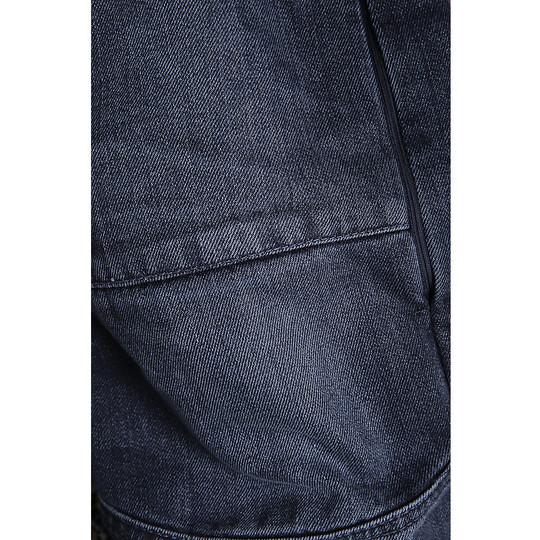 Jeans moto PMJ Promo Storm Storm Bleu