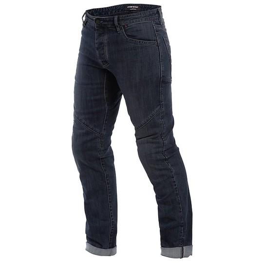 Jeans moto technique Dainese TIVOLI Regular Denim Black Jeans
