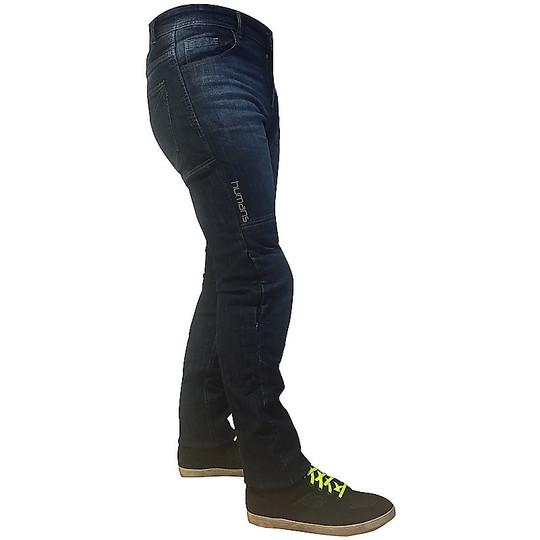 Jeans moto technique Humans HM86 Lady Stretch avec renforts Femme