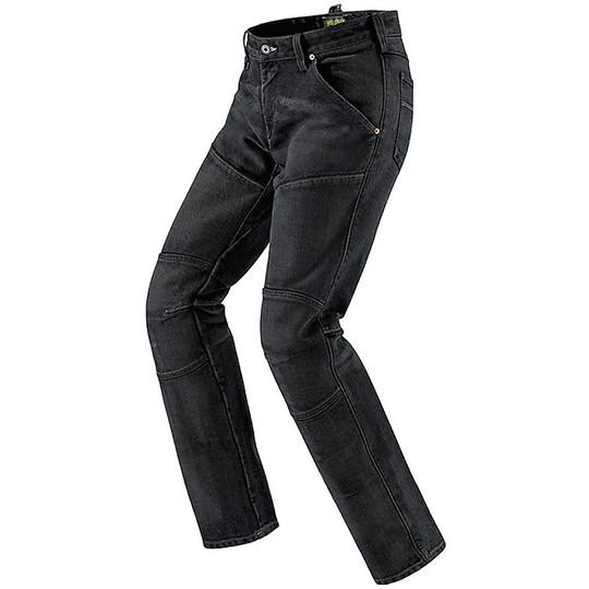 Jeans Spidi CREW Pantalon de moto Noir