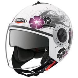 Jet Motorcycle Helmet Caberg Double Visor Model Riviera V2 + Diva Caberg
