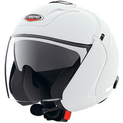 Jet Motorcycle Helmet Caberg Downtown S White Model Caberg