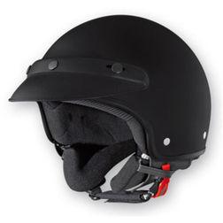 Jet Motorcycle Helmet Caberg Freedom Matt Black Caberg