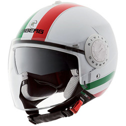 Jet Motorcycle Helmet Caberg Riviera V2 + Model Double Visor Italy Caberg