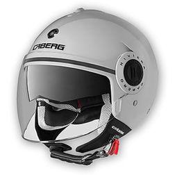 Jet Motorcycle Helmet Caberg Riviera V2 + Model Double Visor White Caberg