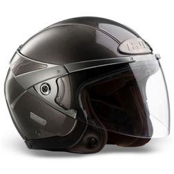 Jet Motorcycle Helmet HJC ARTY Double Visor Anthracite Hjc