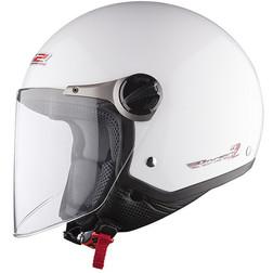 Jet motorcycle helmet LS2 OF560 Rocket II White Ls2