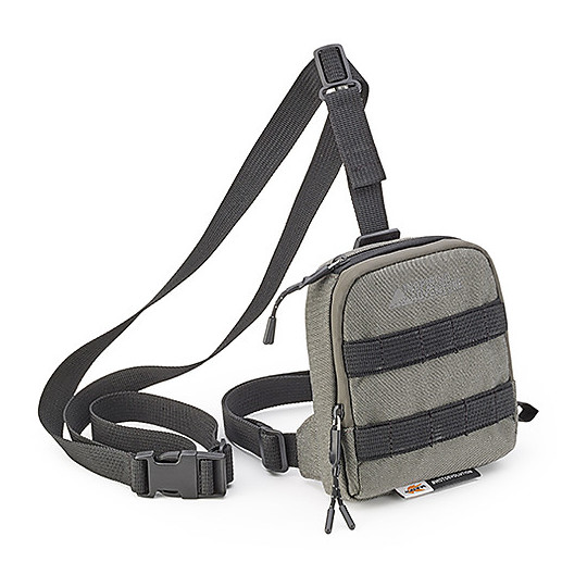 Kappa RA307R2 Moto Leg Bag Gris