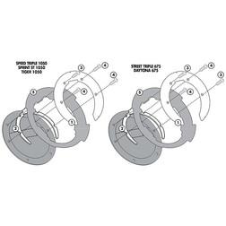 Kit Attacco Per Borsa Givi BF02 Per Tanklock Givi