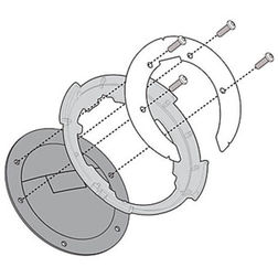Kit Attacco Per Borsa Givi BF16 Per Tanklock Givi