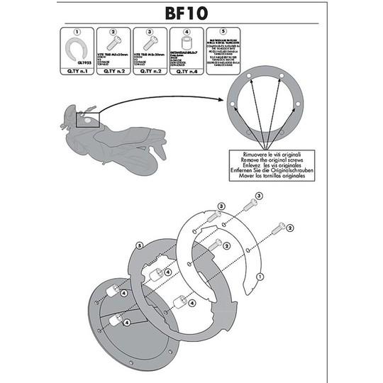 Kit Attacco Per Borsa Kappa BF10K Per Tanklock