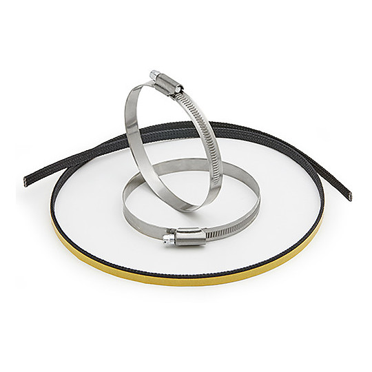 Kit d'attaches de câble en acier inoxydable 316 pour fixer l'écran thermique Givi S290