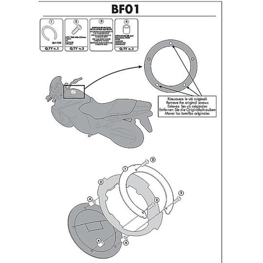 Kit de connexion pour sac Kappa BF01 pour réservoir