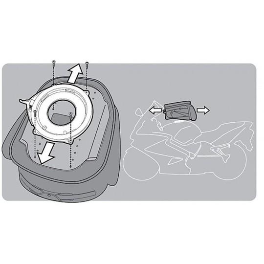 Kit de fixation pour sac Givi BF09 pour réservoir
