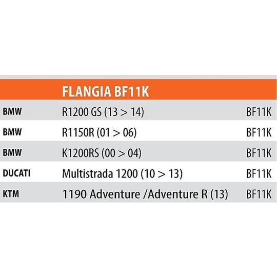 Kit de fixation pour sac Givi BF11 pour réservoir