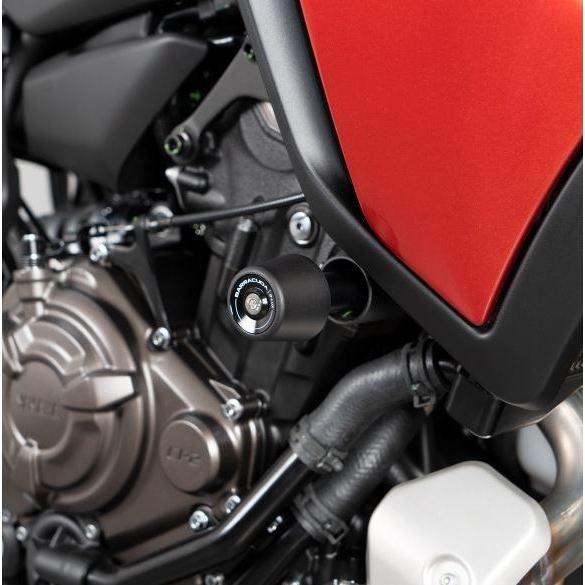 Kit de protections de cadre Barracuda spécifiques pour Yamaha MT-07 TRACER / TRACER 2020