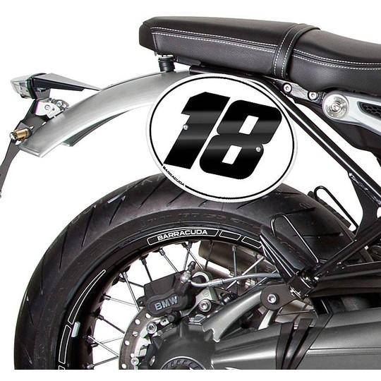Kit plaque d'immatriculation Barracuda spécifique pour BMW R NineT Pure - Racer - Scrambler - Urban GS