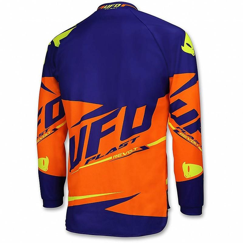 Ufo Jersey Revolt orange Motocross MX Moto Cross Enduro Trikot Offroad Bike