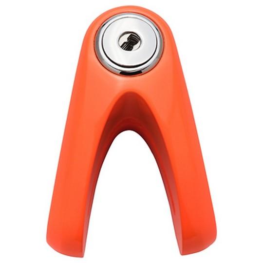KOVIX KVZ1 Goupille de verrouillage de disque en alliage de zinc Double ancre Pin 6 mm Orange Fluo