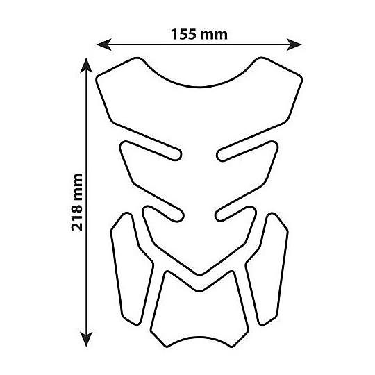 Lampa 90510 Pro-Tank x2 Carbon Adhesive Tank Protection