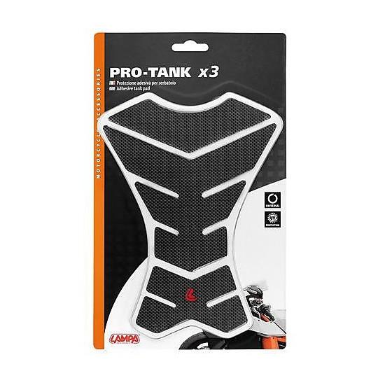 Lampa 90512 Pro-Tank x3 Carbon Adhesive Tank Protection