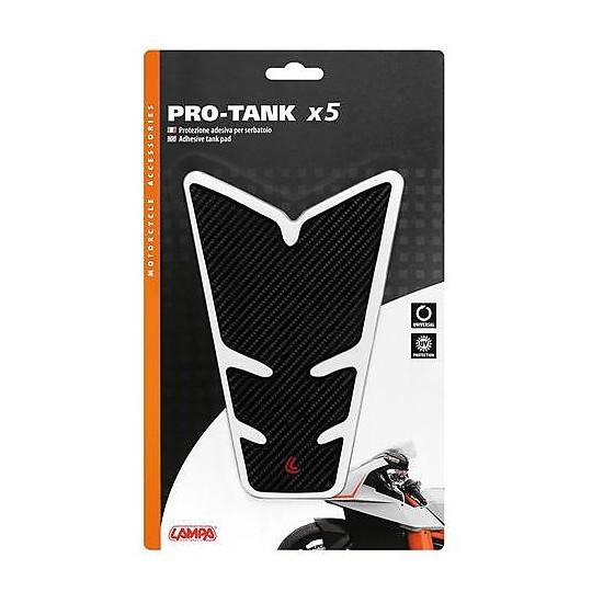 Lampa 90516 Pro-Tank x5 Carbon Adhesive Tank Protection