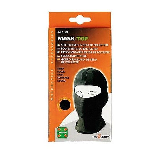 Lampa Balaclava Mask-Top En Soie