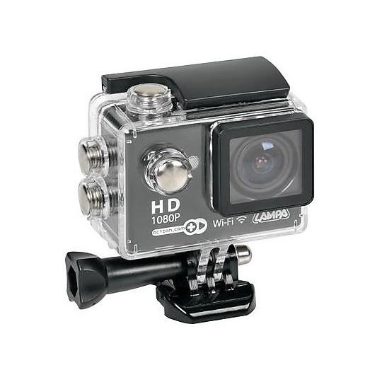 Lampa Sport 1080p Wi-Fi Action Cam Caméra de moto + Kit d'accessoires