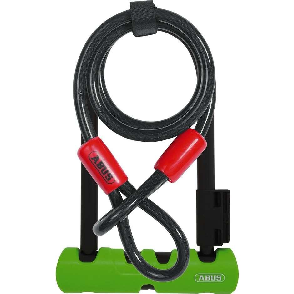 Lucchetto ad Arco Per Bici Abus Ultra 410 Lunghezza 14 Cm + Catena Cobra 120