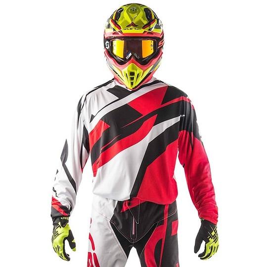ACERBIS da uomo-MX Impact-Arancione-Blu Motocross Enduro MX CROSS