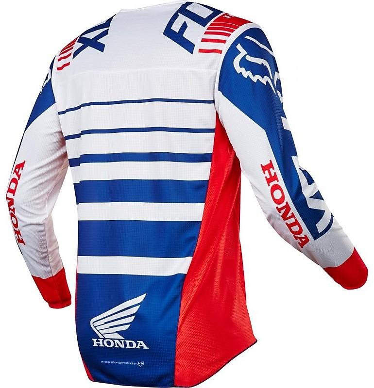 Maglia cross Honda Fox MX20 FX 180 Honda Jersey blu rossa