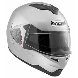 Modular AGV motorcycle helmet MDS By Md 200 Mono Silver Mds