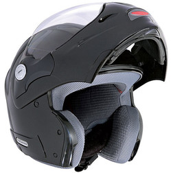 Modular Motorcycle Helmet Caberg Child From Rino Junior Gloss Black Caberg