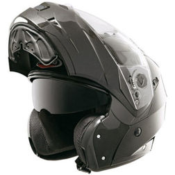 Modular Motorcycle Helmet Caberg Model DUKE Smart Black Caberg