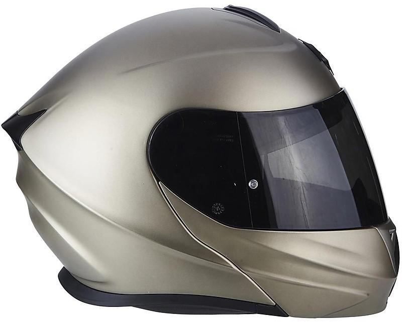Scorpion casco moto exo-920 solid titanium xxl