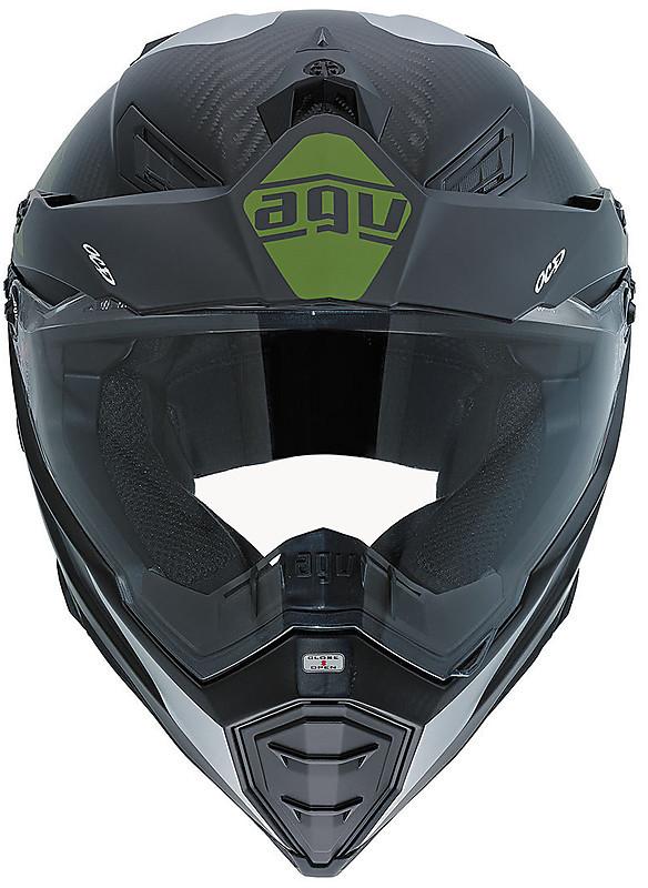 AGV AX-8 Dual Sport Evo Motorcycle Helmet - White