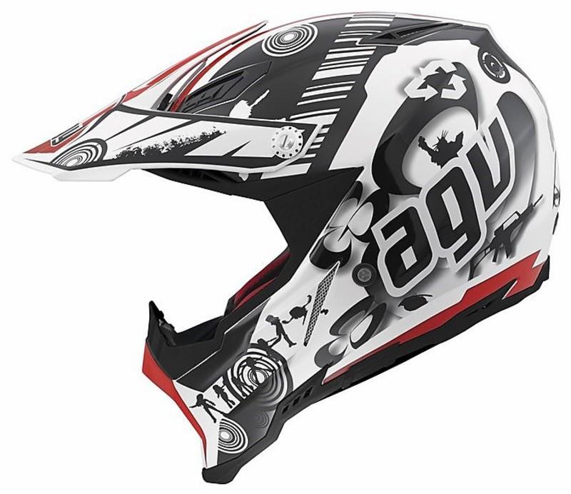 moto cross enduro helmet agv ax 8 evo multi cool white. Black Bedroom Furniture Sets. Home Design Ideas