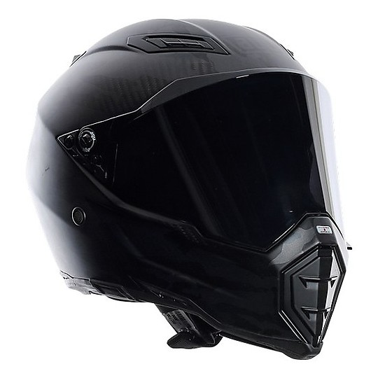 AGV AX-8 Naked Carbon - Matt Carbon - Motorcycle Helmets