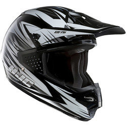 Moto Cross Enduro Helmet HJC CSMX Shattered MC10 Hjc