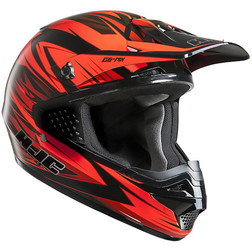 Moto Cross Enduro Helmet HJC CSMX Shattered MC1 Hjc
