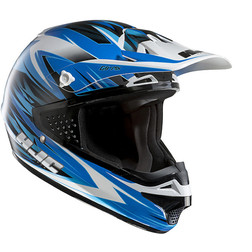 Moto Cross Enduro Helmet HJC CSMX Shattered MC2 Hjc