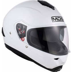 Motorcycle Helmet Full Mds by Agv Fullsun Mono White Mds