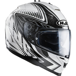 Motorcycle Helmet HJC IS17 Dual Visor Full Tasman MC10 Hjc
