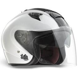 Motorcycle Helmet Hjc jet ISURBY Double Visor White Leiden Hjc