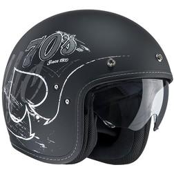 Motorcycle Helmet Jet HJC FG-70S Fiber Rockers MC-5F Hjc