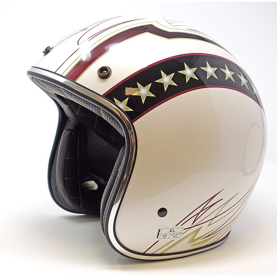 AFX FX-76 Solid Open Face Helmet Gold Metal Flake