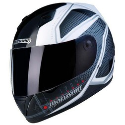 Motorcycle Helmet Marushin Full 778Nx Biomech Black-White Marushin