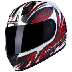 Motorcycle Helmet Marushin Full 778Nx Sentou Black-Red Marushin